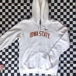 Iowa State Nike  Zip Up Hoodie.
